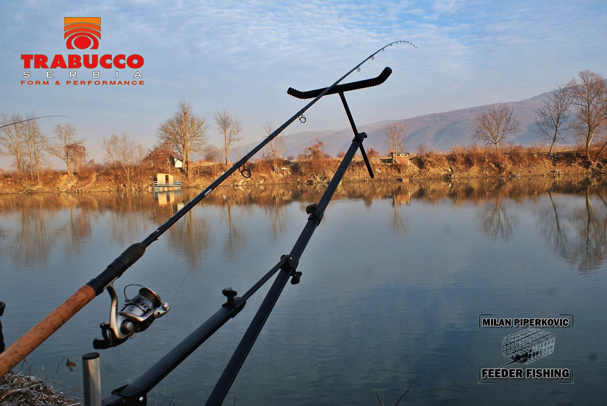 Položaji feeder štapa na stajaćim i tekućim vodama